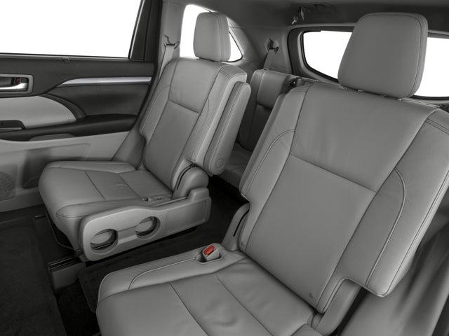 Toyota Highlander Second Row Bucket Seats