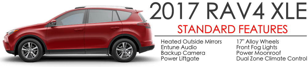 For 2017 The Rav4 Will Come In 4 Trim Levels Le Xle Limited And Platinum All Models Standard With A Ful 176 Hp Cylinder Engine